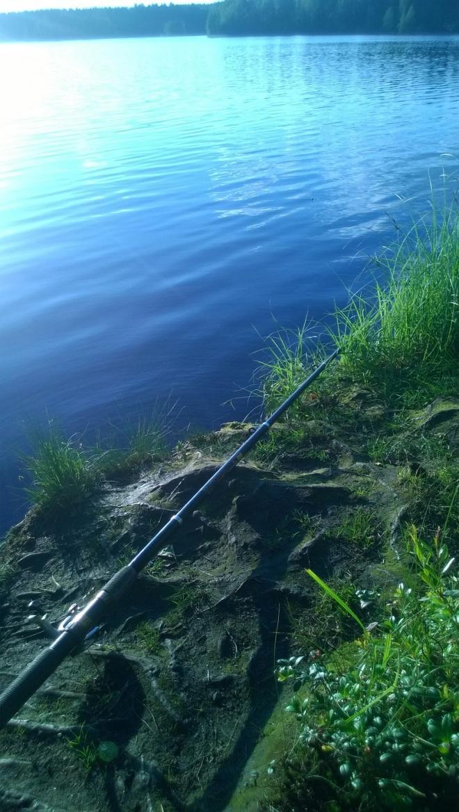 Рыбалка на Медном Озере, Санкт - Петербургская область